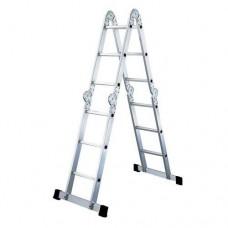 Лестница-трансформер алюминиевая VIRA 4x4