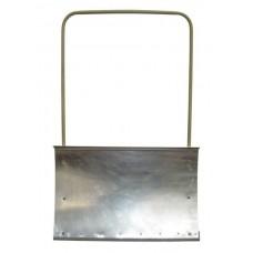 Движок снегоуборочный стальной оцинкованный ДО-2, с мет. планкой, с мет.ручкой