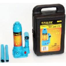 Домкрат гидравлический бутылочный 8 т (высота подъема 230-457 мм)