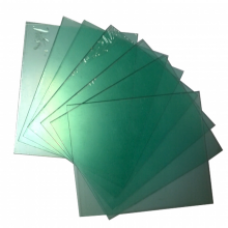 Стекло поликарбонатное 115х105 мм (Барс 207)
