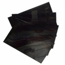 Стекло ТИСС 69х121 мм (№3-№7) 9 - 13 DIN