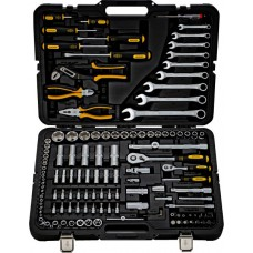 Набор инструментов 128 предметов Berger, профессиональный, пожизненная гарантия