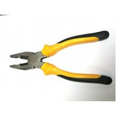 Пассатижи 200 мм (черно-желт. ручка)