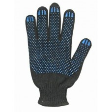 Перчатки х/б с ПВХ  (4-х нитка)