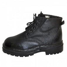 Ботинки юфть кирза утепленные (р. 43)